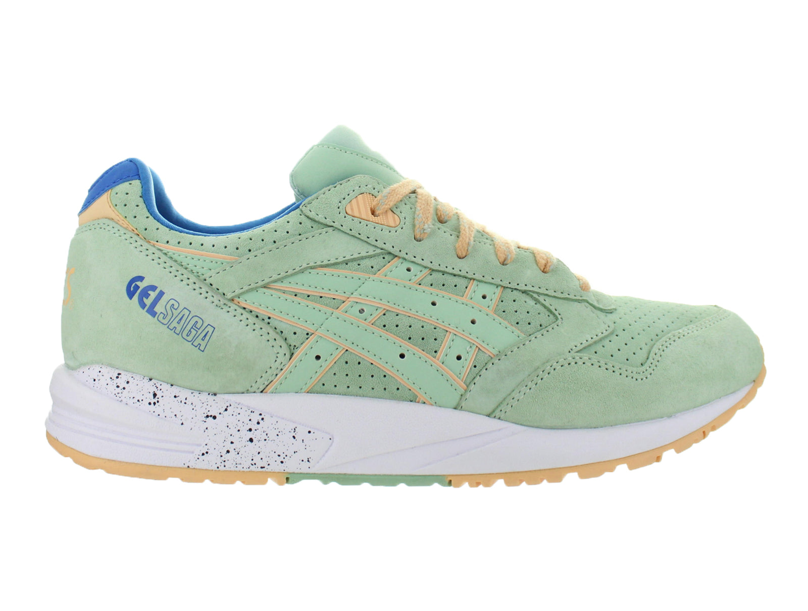 Mens Asics Gel Saga Easter Pack Smoke Green White Blue H6A0L-7474
