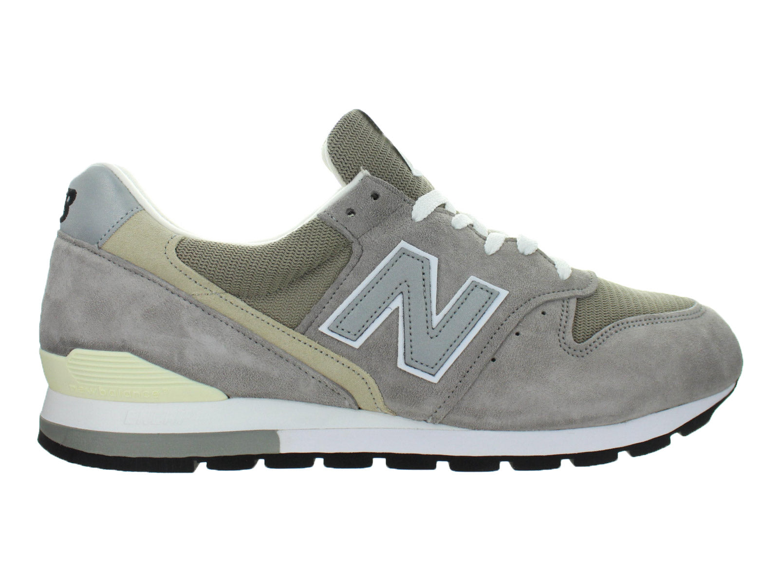 best service 7dbdb d70cf Details about Mens New Balance 996 Made In USA Grey White Black M996