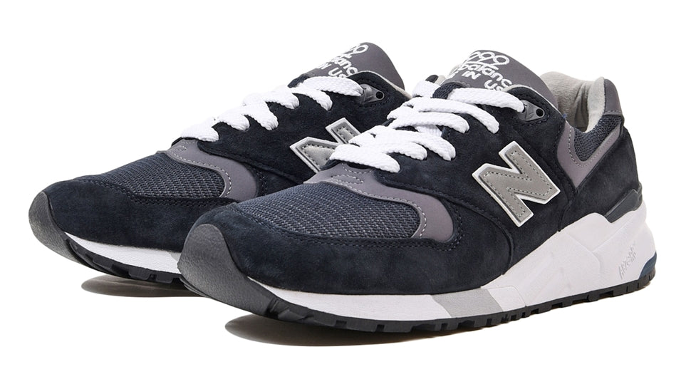 timeless design 81333 fdb99 Details about Mens New Balance 999 Made In USA Navy Pewter M999CBL