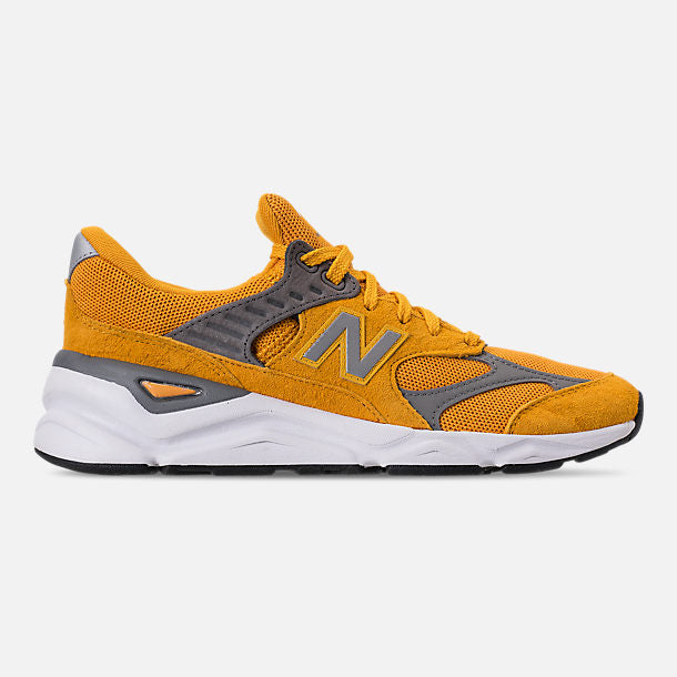 Mens New Balance X90 V2 Mustard Yellow MSX90RLC | eBay