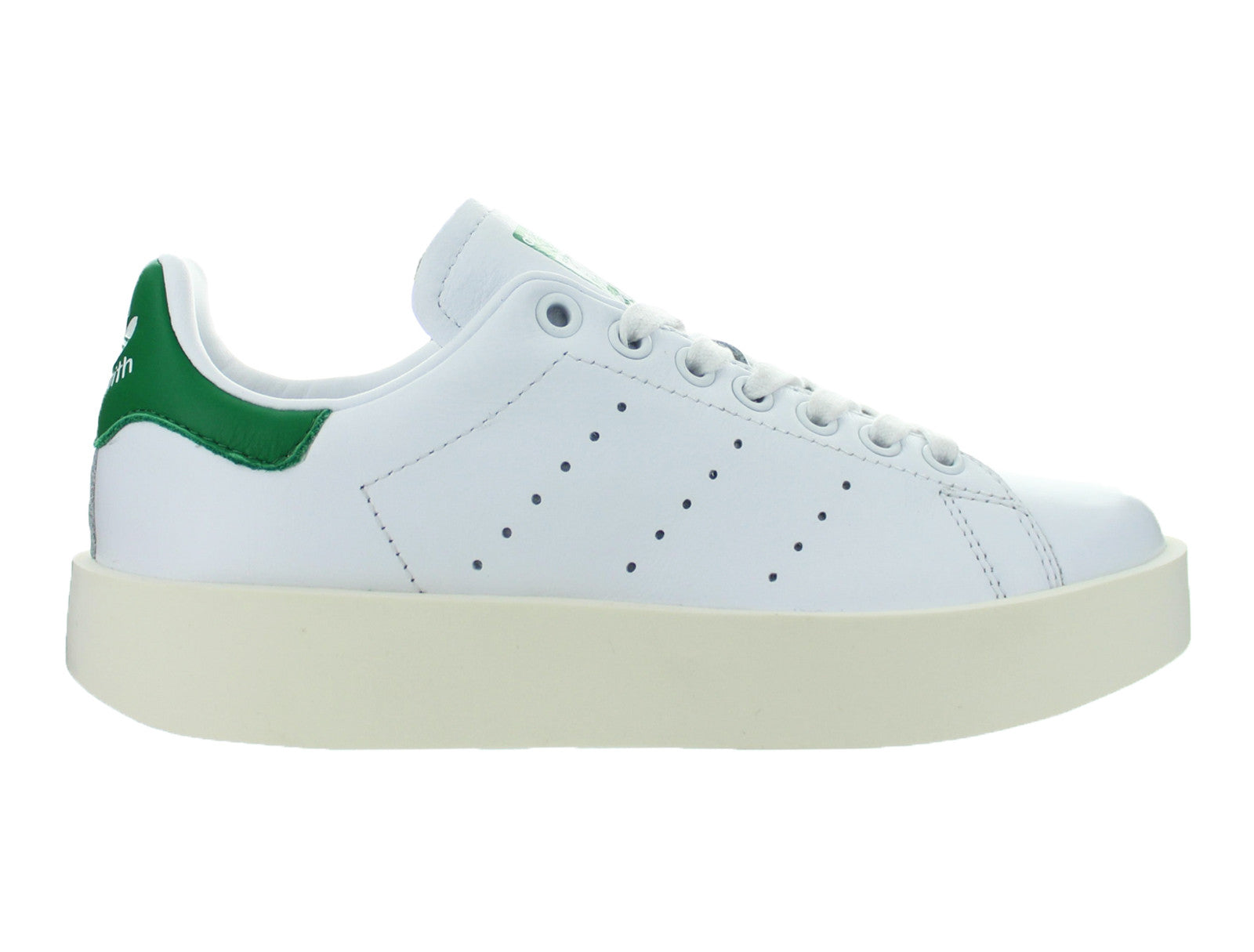 Details about Womens Adidas Stan Smith Bold W Footwear White Green S32266 a26a9799d
