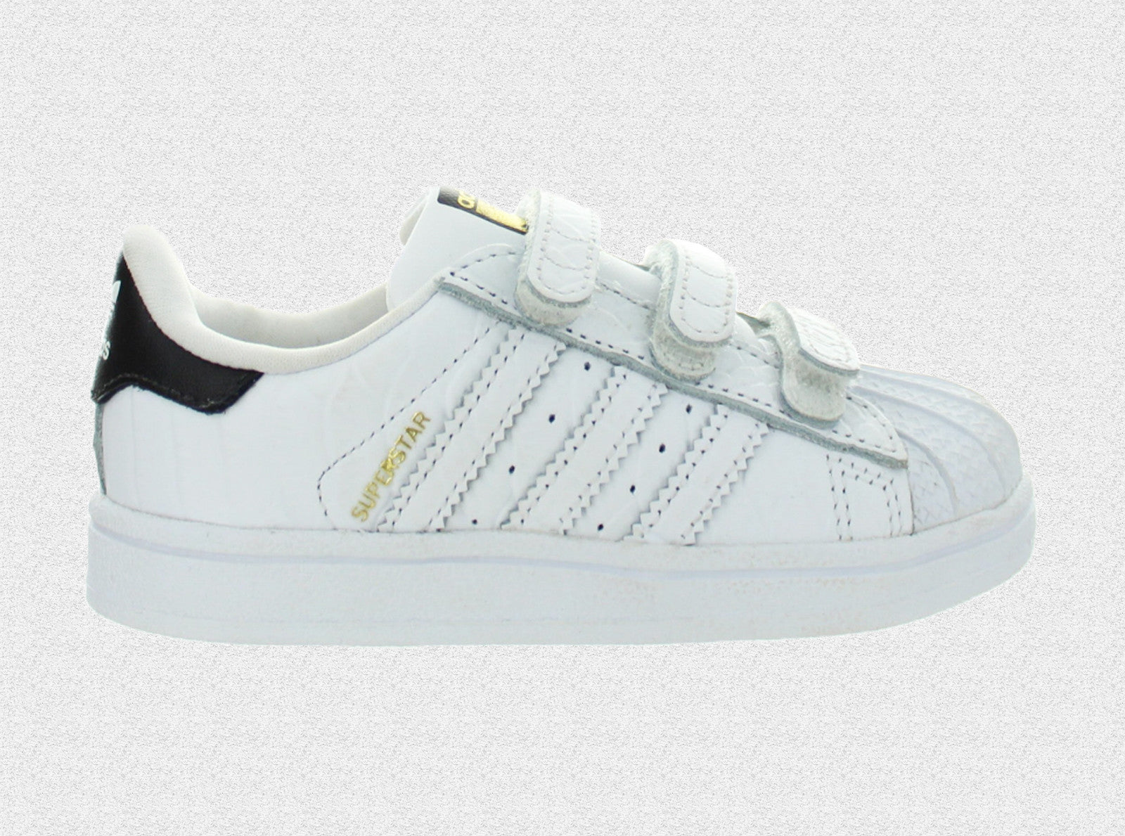 Details about Shoes adidas Superstar Cf I White Kids