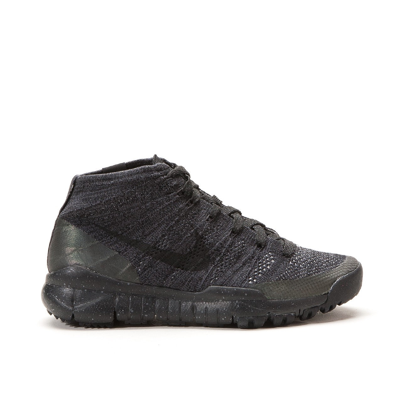 Nike Women's Flyknit Training Chukka FSB Shoe Black 805093-001 NEW Sz 6.5 US