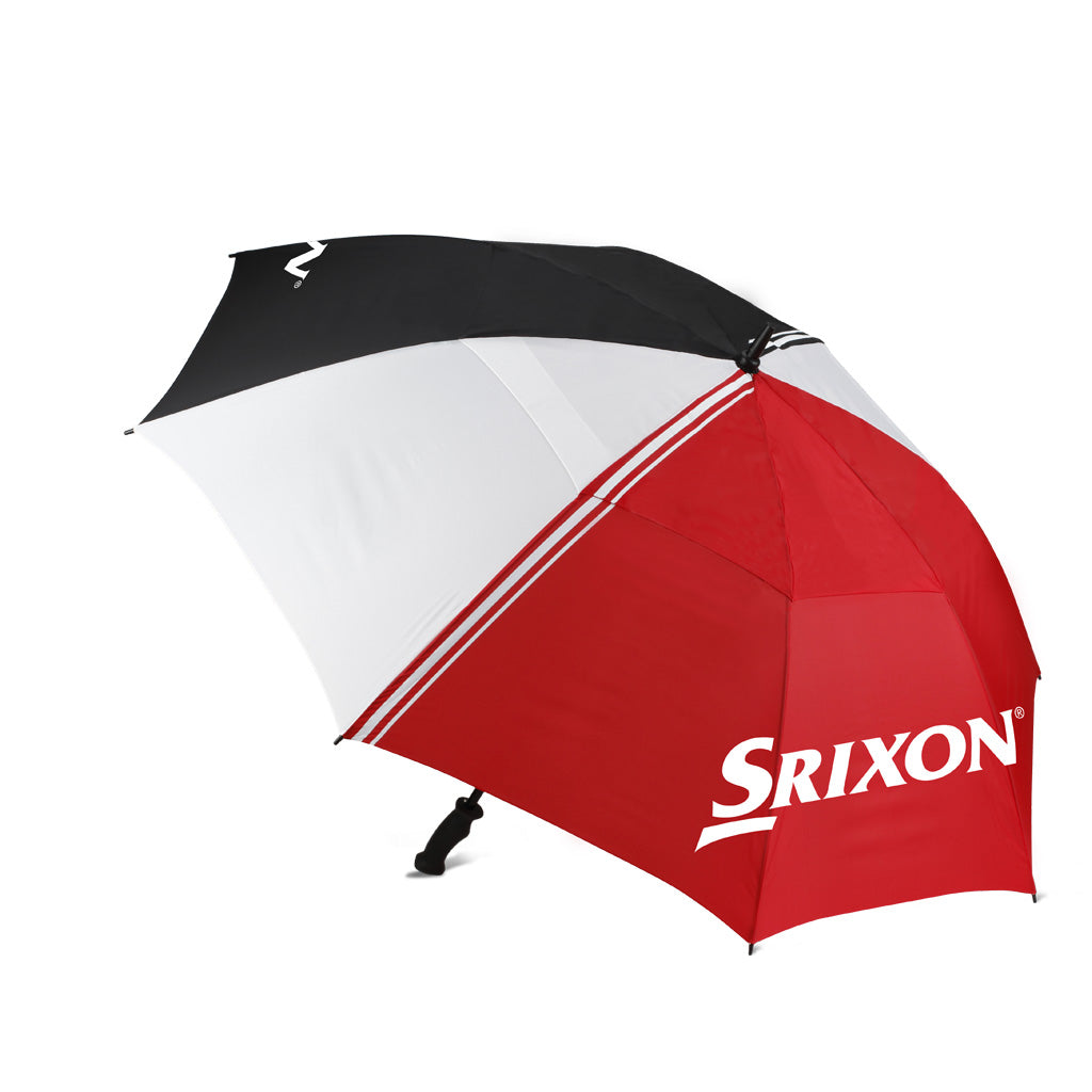 "SRX Umbrella 62"" Wht/Blk/Red"