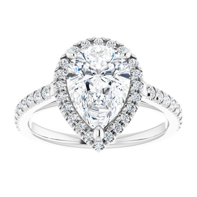 pear shape engagement