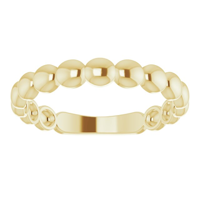 Yellow Stackable Ring