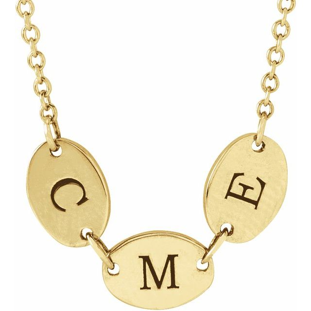 Mother's day engravable necklace
