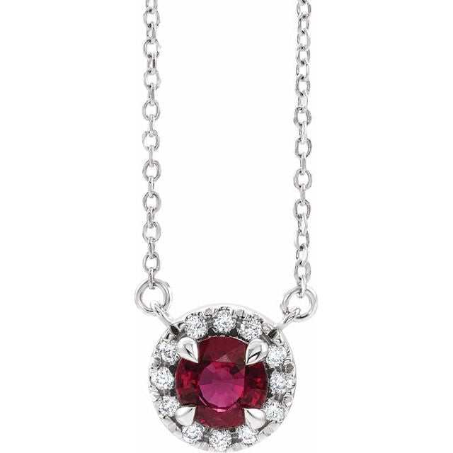 garnet-diamond-necklace