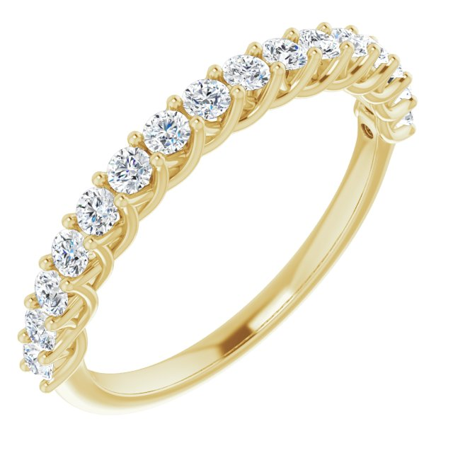 diamond wedding ring yellow gold