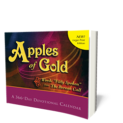 Apples of Gold (Extra Large Print) - Book - Large Print from The Berean Call Store