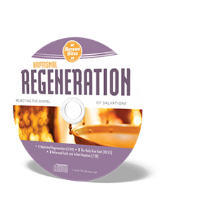 Biblically Thinking About - Baptismal Regeneration Audio CD