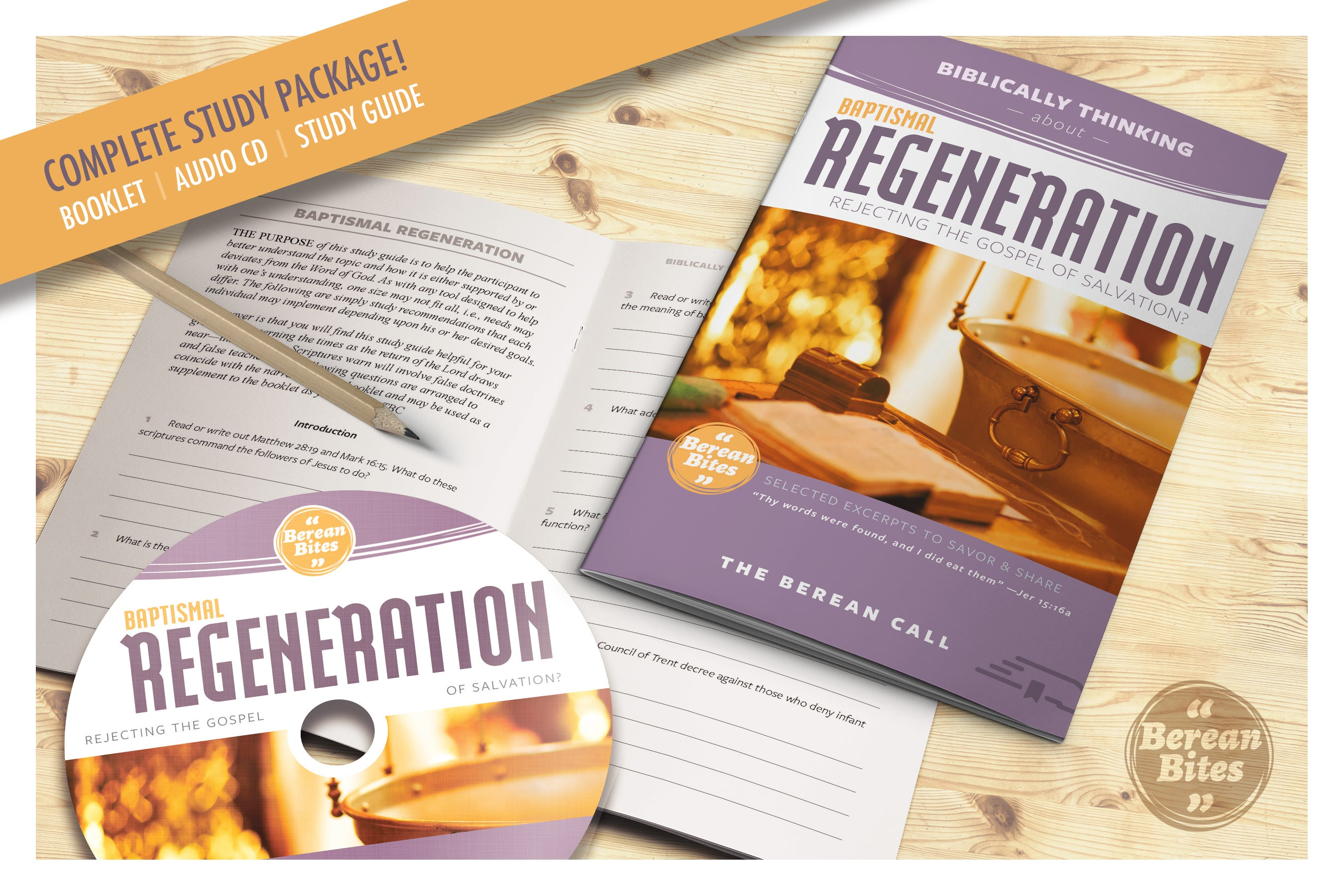 Biblically Thinking About Baptismal Regeneration - Download - Berean Bite - Download from The Berean Call Store