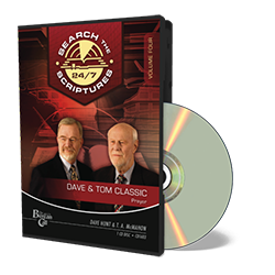 Dave & Tom Classic STS 24/7 - Prayer - CD - Audio from The Berean Call Store