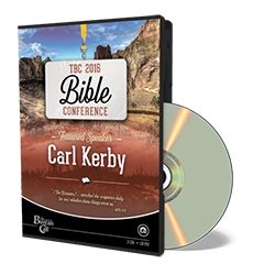 2016 Conference CD - Carl Kerby