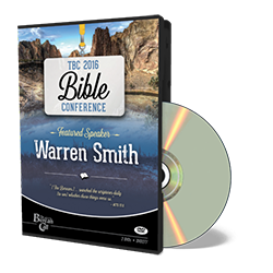 2016 Conference - Warren Smith - DVD from The Berean Call Store