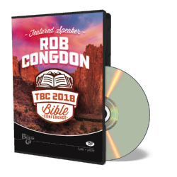 2018 Conference DVD - Rob Congdon - DVD from The Berean Call Store