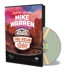 2018 Conference DVD - Mike Warren