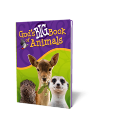 God's Big Book of Animals - Book - Hardback from The Berean Call Store