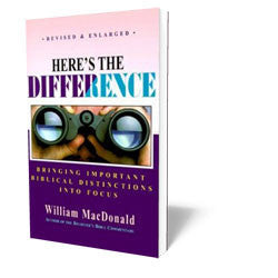 Here's the Difference - Book - Soft Cover from The Berean Call Store