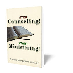 Stop Counseling Start Minister B17229