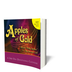 Apples of Gold - Book - Soft Cover from The Berean Call Store
