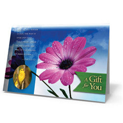 God of Wonders Spring Card - Greeting Card from The Berean Call Store