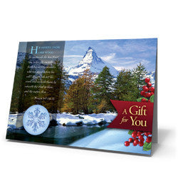 God of Wonders Winter Card - Greeting Card from The Berean Call Store