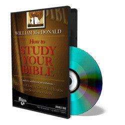 How to Study Your Bible DVD DVD095
