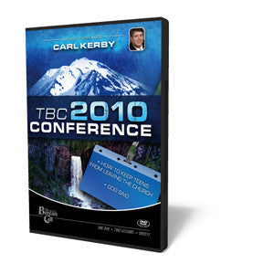 2010 TBC Conference: Carl Kerby - DVD from The Berean Call Store