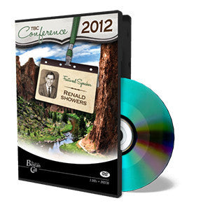 2012 TBC Conference: Renald Showers - DVD from The Berean Call Store