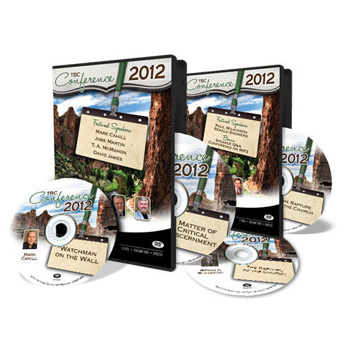 2012 TBC Conference Complete - DVD from The Berean Call Store