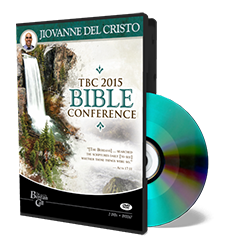 2015 Conference - Jiovanne Del Cristo - DVD from The Berean Call Store