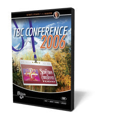 2006 Conference DVD - T.A. McMahon