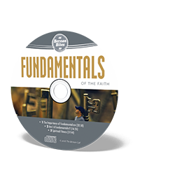 Biblically Thinking About - Fundamentals CD