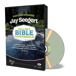 2017 Conference - Jay Seegert