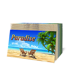 """Paradise"" Tract - 100 pack - Tract from The Berean Call Store"
