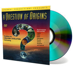 A Question of Origins (for Ministry) - DVD - Sleeve from The Berean Call Store