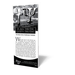 Is All Truth God's Truth? - Tract from The Berean Call Store