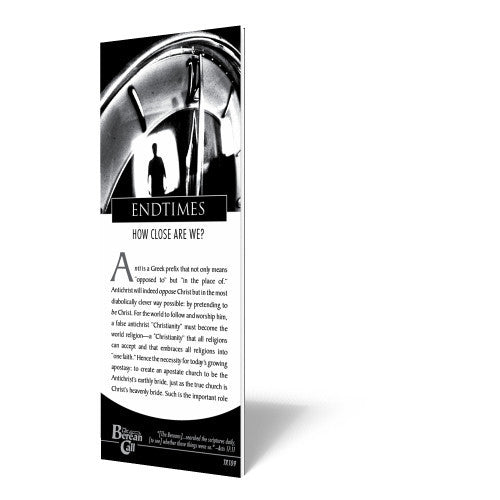 End Times - Tract from The Berean Call Store