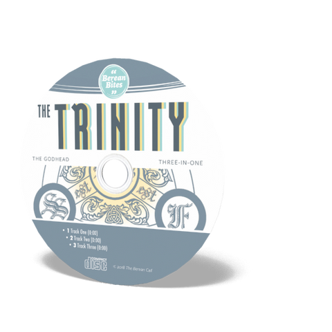 Biblically Thinking About - The Trinity Audio CD