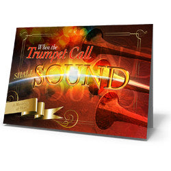 Greeting Card: When the Trumpet Call Shall Sound!