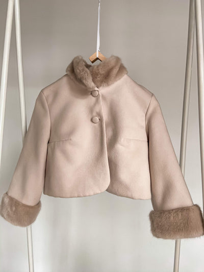 Eco fur coat J 316 - oliviabottega