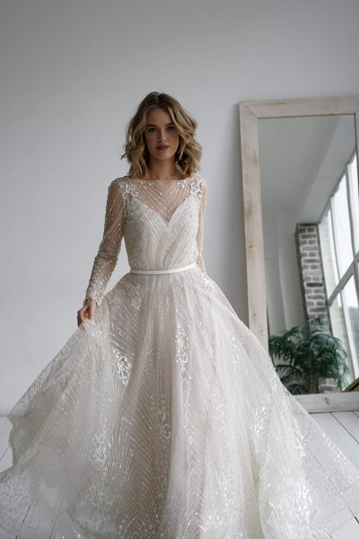 2 in 1 wedding dress Tirion - oliviabottega