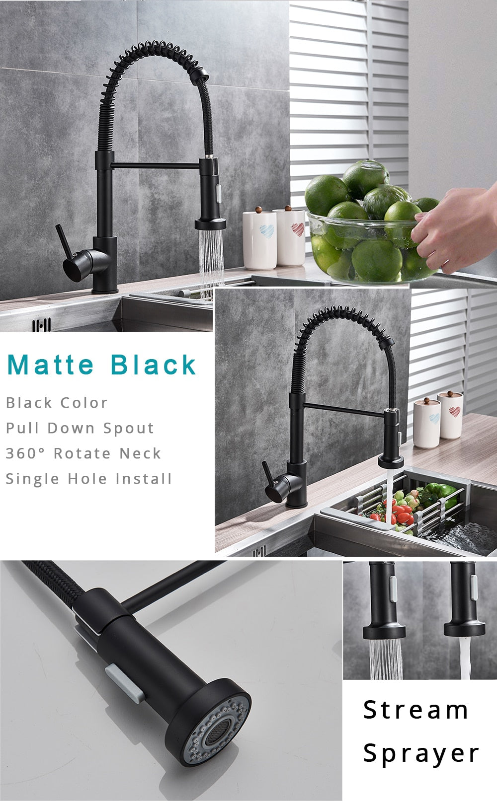 Turbo-Flex 360 Kitchen Faucet