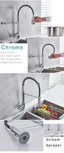 Load image into Gallery viewer, Turbo-Flex 360 Kitchen Faucet