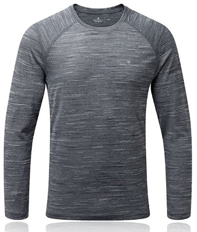 RONHILL MENS MOMENTUM LONG-SLEEVE T-SHIRT