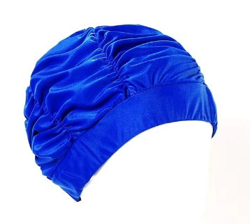 MARU POLYESTER SWIM CAP ROYAL