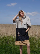 Load image into Gallery viewer, INVENT SPORT SOUL PONCHO BROWN/BLACK/CREAM