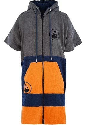 INVENT SPORT  SHANY ZIP PONCHO GREY/ORANGE