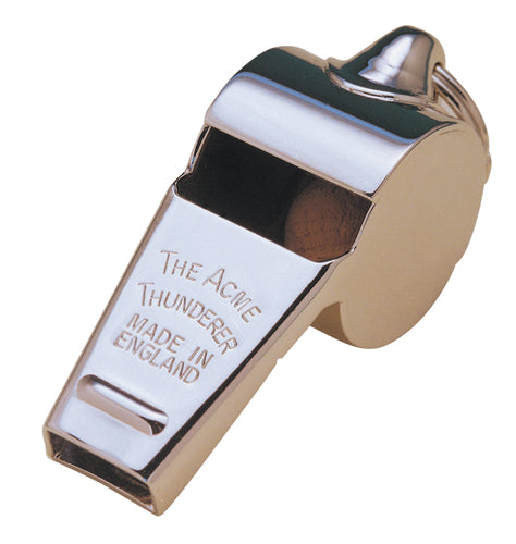 PRECISION ACME THUNDERER METAL WHISTLE